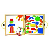 Small World Toys Ryan's Room Wooden Toys - Take and Create Shapes [並行輸入品]