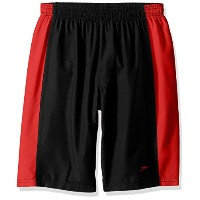 Speedo Boys Hydrovolley Short with Jammer レッド