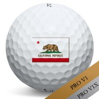 Titleist Pro V1 V1x California Logo Golf Balls【ゴルフ ボール】