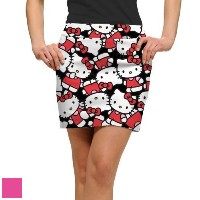 LoudMouth Ladies Hello Kitty Celebration Skort【ゴルフ レディース>スコート】