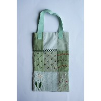 patterie  PATCHWORK TOTE BAG(PR17AW-AC-T101101) green 【三越・伊勢丹/公式】 バッグ~~ハンドバッグ