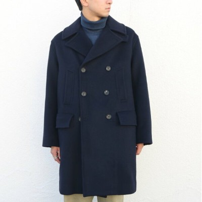 AURALEE(オーラリー)/ BEAVER MELTON P-COAT -NAVY-