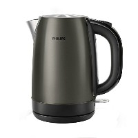 Philips Kettle HD9322/80 1.7 Liter 2200W Titanium Metal Coffee Tea Teapot Kettle 220V & Simple...