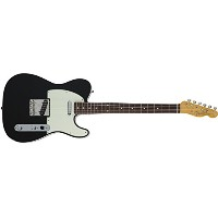 Fender エレキギター MIJ Traditional 60s Telecaster® Custom Rosewood Black