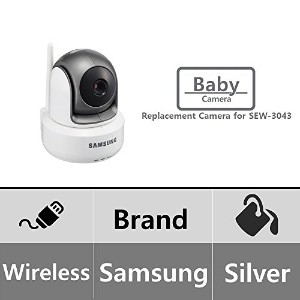 Samsung SEP-1003R HD Night Vision Additional Wireless Pan Tilt Zoom Baby Monitoring Camera for...