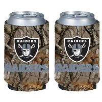 NFL Football Vista Camo Beer Can Kaddy折りたたみ可能なホルダー2- Pack–Pickチーム