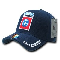 Rapid Dominance S001-82 The Legend Military Caps, 82 Nd A And B, Navy