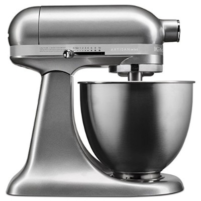KitchenAid キッチンエイド スタンドミキサー KSM3311XCU Artisan Mini Series Tilt-Head Stand Mixer, 3.5 quart [並行輸入品]...