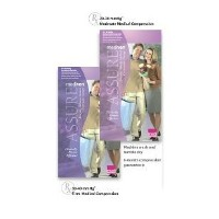Mediven Assure, Closed Toe, with top band, 20-30 mmHg, Thigh High Compression Stocking, Small,...