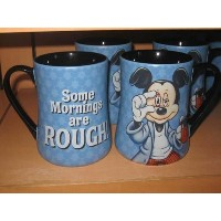 Mickey Some Mornings Are Rough Coffee Mug by Disney