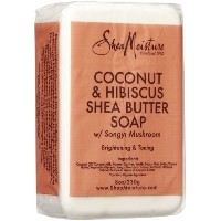 [アメリカ直送]Shea Moisture Coconut Hibiscus Bar Soap-8 oz