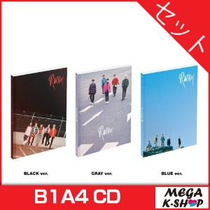 [初回限定ポスター] B1A4 - ROLLIN' (7TH Mini Album) [BLACK ver.+ GRAY ver.+ BLUE ver. SET]