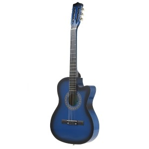 38  6-String Folk Acoustic Guitar for Beginners Music Lovers Students Gift