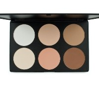 [アメリカ直送]Sealike 6 Colors Face Power Cream Concealer Palette Foundation Makeup Set Cover Speckle F...