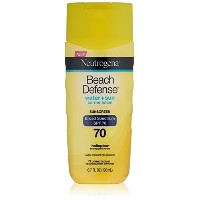 [アメリカ直送]Neutrogena Beach Defense Sunscreen Lotion with Broad Spectrum SPF 70 Protection 6.7 Ounce