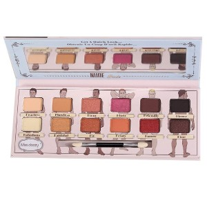 The Balm Nude Dude 12 Color Eyeshadow Palette Natural Highlighter Eye Makeup Eye Shadow