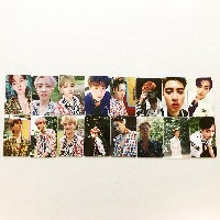 SM Town EXO 4th Album [The War] Regular B + Private ver Full Photocard Set