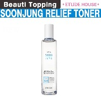 [Etude  House]Soon Jung PH 5.5 Relief Toner 180ml [Beauti Topping]
