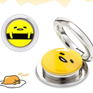 正常品Gudetama Color Ring smart Grip Ring iPhone Xperia Galaxy Sharp Xiaomi Huawei クデタマリングすべてのモバイル適用