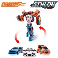 New Tobot Athlon Champion Triple Combine transformation Car Toy Young Toys/ Transformer Car/ Robot/...