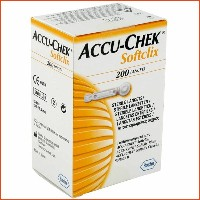 [Roche] Accu-chek Lancets 25T 100T 200T/ Softclix2 Lancing Device/ Blood Pressure monitor /...