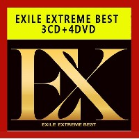 EXILE EXTREME BEST 3CD+4DVD BOX 日本版
