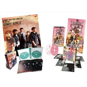[DVD]SHINEE THE 1ST CONCERT+SHINee THE 2nd CONCERT SHINEE WORLD+SHINee WORLD2 in SEOUL DVDポスター品切れ