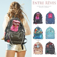 [ENTRE REVES] 26490円→24490円でゲット!【カートクーポン使用可能】 芸能人愛用!SNSで人気  BACKPACK / アントレブ / 実用性も可愛さも♪