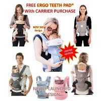 ? Baby Carrier Four Position 360 Cool Air ? Adapt/ Detachable HipSeat ? Organic Teething Pad/ Insert