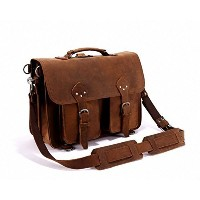 (Leyden and Sons Leather Bag Co.) Leyden and Sons Leather Bag Co. - Original Messenger Bag