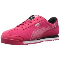 PUMA Womens Roma Deep Summer WNS Classic Style Sneaker  Rose Red/Rose Red  8.5 B US