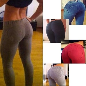 Women Sexy Skinny Jeggings Stretchy Pants Leggings Jeans Pencil Tight Trousers