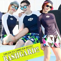 ★DANGOON ダングン★カップルアンダーレイヤーCOUPLE BEACH FASHION ★ UPF 50+ RASHGUARD KOR HOT TREND SWIM WEAR/BEACH...