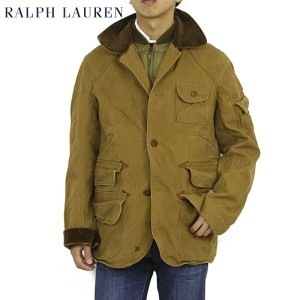 POLO by Ralph Lauren Men's Hunting Jacket with Down Vest Liner US ポロ ラルフローレン ハンティングジャケット ダウンベスト ライナー