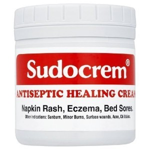 2 x Sudocrem Antiseptic Healing Cream For Napkin Rash, Eczema Or Bed Sore - 125g each by Sudocrem