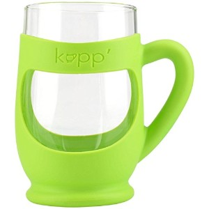 Kupp' Glass Drinking Cup for Kids Green by Kupp'