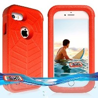temdan Iphone SE / 5s / 5フローティングケースwith a 0.2MMクリア&シン防水バッグ耐衝撃Lifejacket Case for iPhone sE / 5s /...