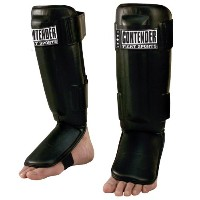 Contender Fight Sports MMA pro-style Muay Thai Kickboxing Protective Grappling Shin Guards