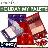 BREEZY ★ [Innisfree] Holiday my palette / 2017 Christmas Limited Edition