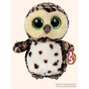 New TY Beanie Boos Cute Sammy the spotted owl Plush Toys 6'' 15cm Ty Plush Animals Big Eyes Eyed...
