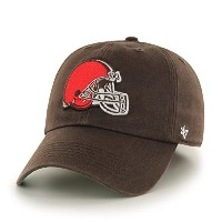 NFL Cleveland Browns Franchise Fitted Hat、ブラウン、ミディアム