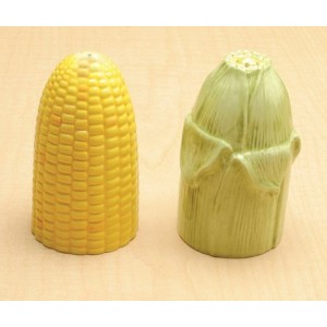 collectible VegetableセラミックガラスSalt and Pepper Shaker