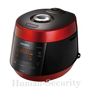 CUCKOO Rice Cooker CRP-P067FR Pressure 6 CUPS 220VCUCKOOライスクッカーCRP-P067FR圧力6 CUPS 220V [並行輸入品]