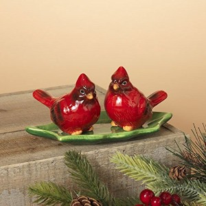 Gerson Dolomite Cardinal Salt and Pepper Shaker Set of 3台所用品
