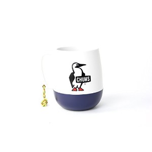 CHUMS チャムス Big Round Camper Mug (White/Navy)