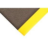 """Notrax 415Pebbleステップsof-tred安全/抗疲労マットwith dyna-shield PVCスポンジfor Dry領域 3'W x 5'L x 3/8"""" Thick..."""