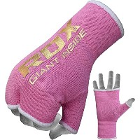 RDXボクシングLadies Fist Hand Inner Gloves包帯ピンクWraps MMAパンチバッグキック M