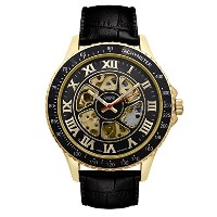 Mens Croton Imperial China Automatic Strap Watch