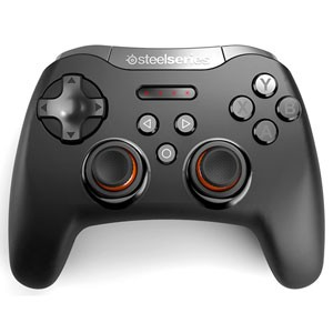 69050 SteelSeries Bluetooth接続 ワイヤレスゲーミングパット(ブラック) Stratus XL Wireless Gaming Controller [69050]...