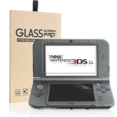New Nintendo 3DS LL フィルム-NONZERS New 3DS LL 液晶画面保護シート newニンテンドー 3DSLL 用 任天堂 液晶保護フィルム カバー 超薄 光沢...